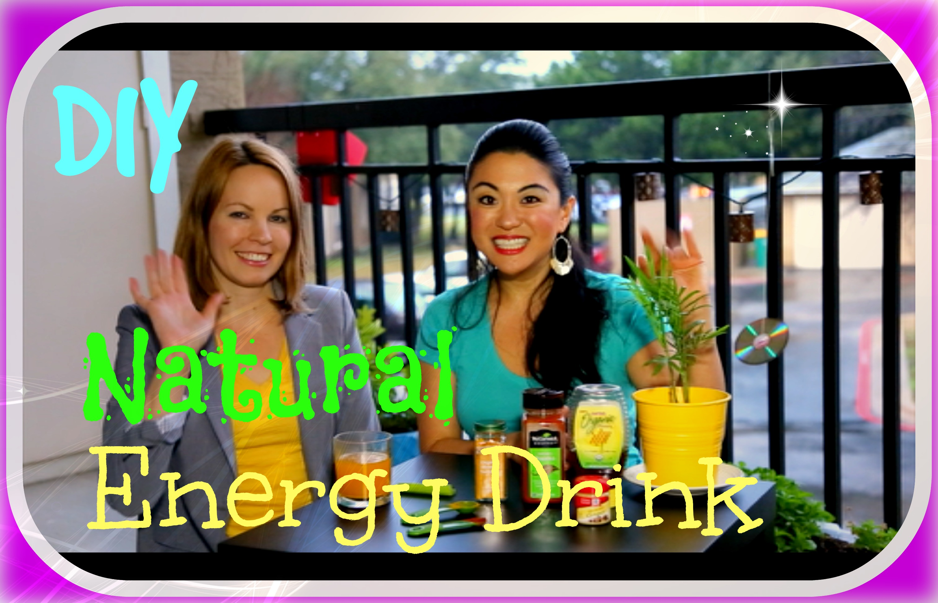 Healthy Energy Drinks Homemade