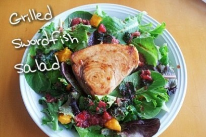 Teriyaki Swordfish Salad