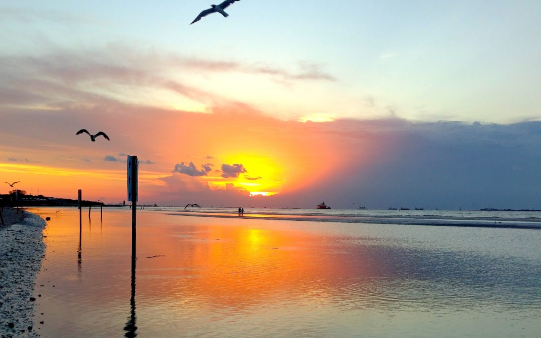Galveston Island sunset